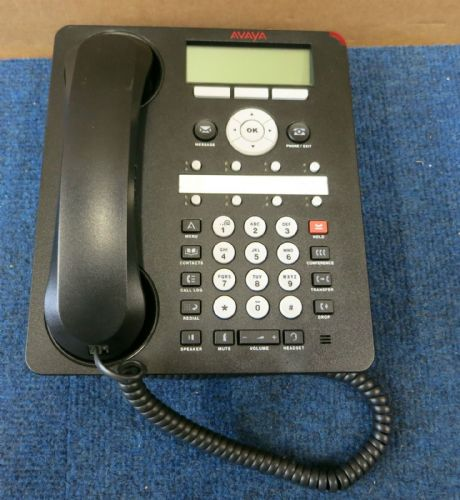 Avaya 1608-I One-X Business VoIP PoE Deskphone Telephone With Handset NO STAND
